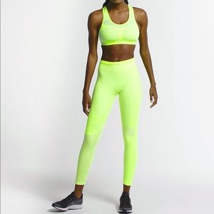 Nike Volt Neon Tech Running Tights